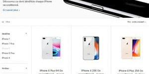 Apple commercialise (enfin) des iPhone reconditionnés
