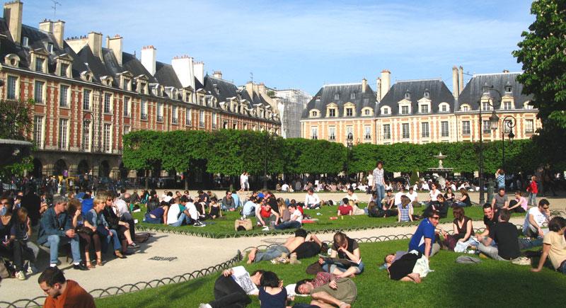 Les espaces verts source de bien tre pour les citadins for Les espaces verts urbains