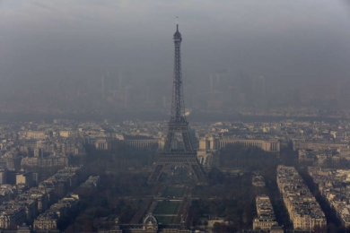 L'épisode de pollution aux particules se prolonge sur l'Ile-de-France