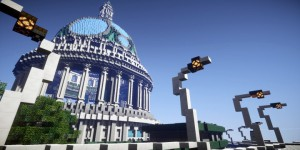 EN IMAGES.  « Climate hope city » : la ville du futur imaginée par The Guardian et Minecraft