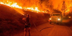 EN IMAGES. Incendies géants en Californie