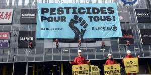 Greenpeace accuse Leclerc de favoriser l'usage de pesticides