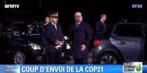 EN DIRECT. COP21 : Hollande arrive au Bourget pour accueillir plus de 150 chefs d'Etat