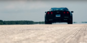 VIDEO. Une Corvette électrique bat le record du monde de vitesse de voiture sans essence