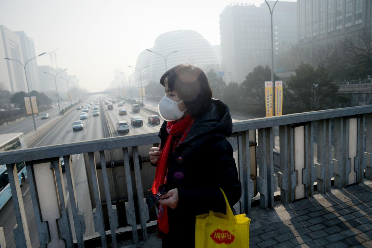 EN IMAGES. Pollution : quand la Chine suffoque