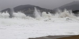 Tempête : la Corse-du-Sud en vigilance orange vagues-submersion