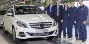 La Classe-B Electric Drive de Mercedes entre en production