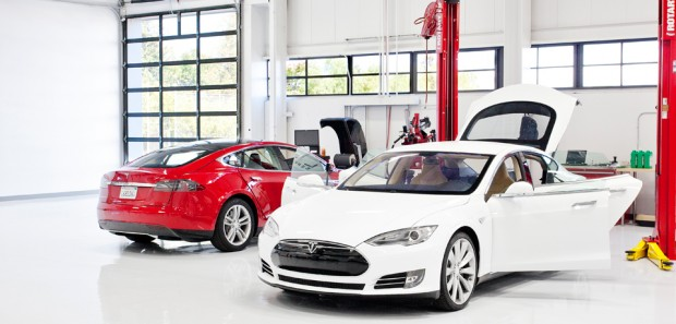 Un showroom Tesla Motors à Aix en Provence