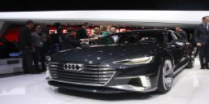 Audi Prologue Avant – Le break hybride rechargeable en direct de Genève