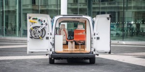 Nissan e-NV200 WORKSPACe : le bureau mobile électrique