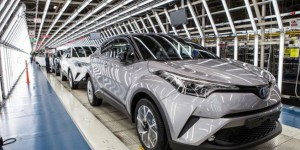 Toyota C-HR : le crossover hybride entre en production