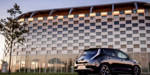 Nissan Leaf Black Edition : 4G et internet à bord