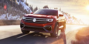 Volkswagen Atlas Cross Sport Concept : un SUV hybride rechargeable au salon de New-York