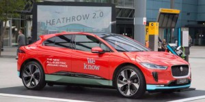Londres : 200 Jaguar i-Pace pour l'aéroport d'Heathrow