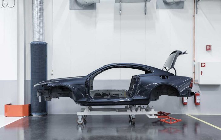 Polestar 1 : les premiers prototypes entrent en production