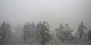 En Chine, la mégalopole Harbin paralysée par la pollution