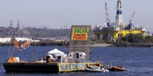 A Seattle, les « kayaktivistes » contre Shell