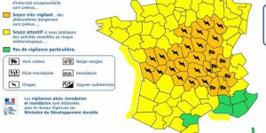 Orages : 26 départements en vigilance orange