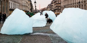 « Ice Watch » : voir la banquise fondre à Paris