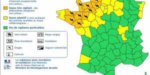 Orages : treize départements en vigilance orange