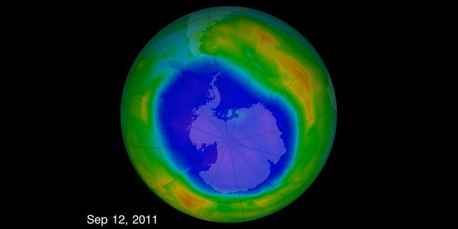 Le trou dans la couche d ozone est en train de se r sorber - Trou dans la couche d ozone ...
