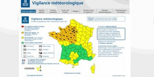 Météo France place 28 départements en alerte orange
