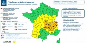 Orages : douze départements en alerte orange