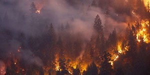 Les incendies meurtriers de Californie vus du ciel