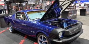 Une Ford Mustang electrique