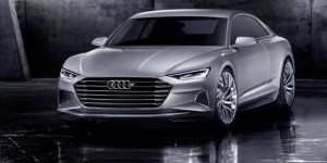 Concept Audi prologue : hybridation légère par batterie 48 volts