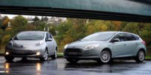 Essai Comparatif : Ford Focus Electric vs. Nissan Leaf