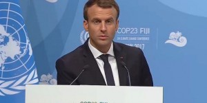 Macron à la COP23 reprend le leadership de l'action climatique