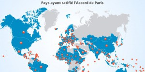 [INFOGRAPHIE] Climat : l'Accord de Paris ratifié par 168 pays