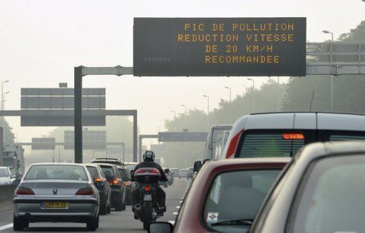 Vers une circulation alternée en cas de pics de pollution