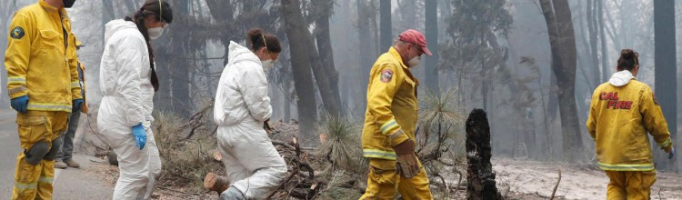 Incendies en Californie : une centaine d'habitants portés disparus